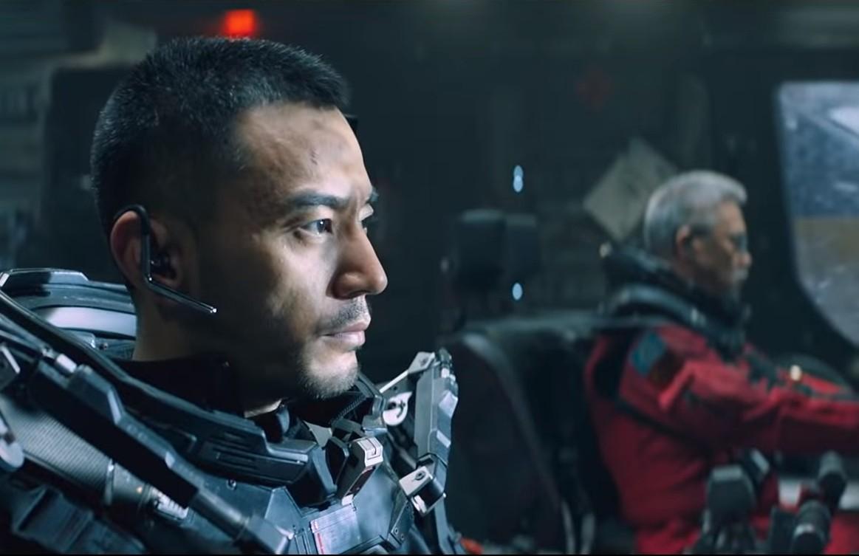 لقطة من فيلم الخيال العلمي الصيني