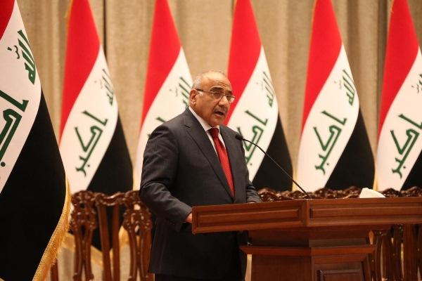 عبد المهدي في مجلس النواب العراقي