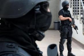 عناصر من الشرطة المغربية