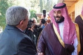ولي العهد السعودي الأمير محمد بن سلمان يلتقي الوزير الأول الجزائري أحمد أويحيى
