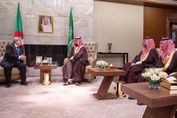 الأمير محمد بن سلمان في الجزائر