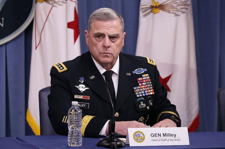 قائد سلاح البرّ الجنرال مارك ميلي