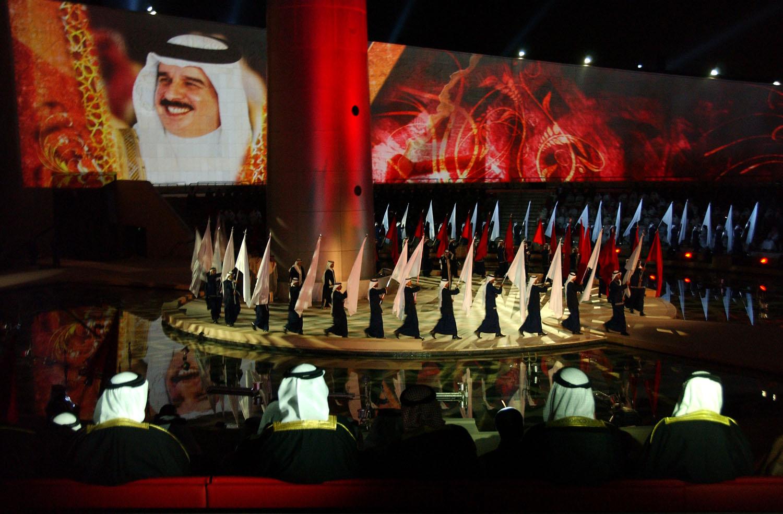 جانب من احتفالات البحرينيين بعيدهم الوطني