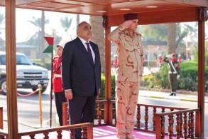عبد المهدي يرعى احتفالًا عسكريًا بالذكرى الأولى لإعلان النصر على داعش