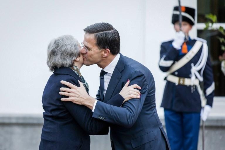 رئيس وزرء هولندا مستقبلا ماي