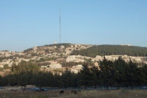 صورة لمواقع قريبة من قاعدة تلاع العلي الجوية في محيط عمّان