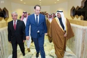 نائب أمير منطقة الرياض مستقبلا يوسف الشاهد