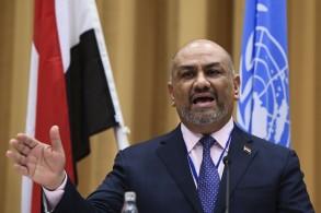 خالد اليماني وزير الخارجية اليمني ورئيس وفد الحكومة إلى مفاوضات السويد