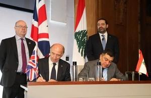 توقيع اتفاقية (رولز رويس) البريطانية وطيران الشرق الأوسط اللبنانية