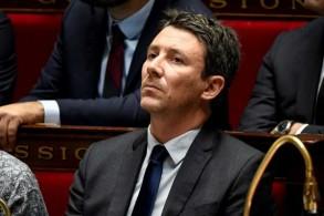 الناطق باسم الحكومة الفرنسية بنجامين غريفو في الجمعية الوطنية في باريس في 12 ديسمبر 2018