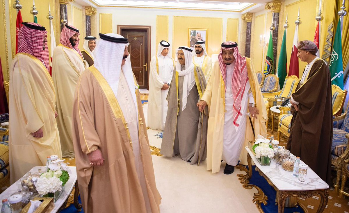 قادة ومسؤولي مجلس التعاون الخليجي في الرياض يوم الأحد