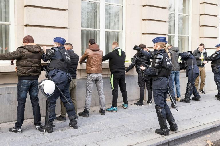 الشرطة البلجيكية توقف عددا من متظاهري