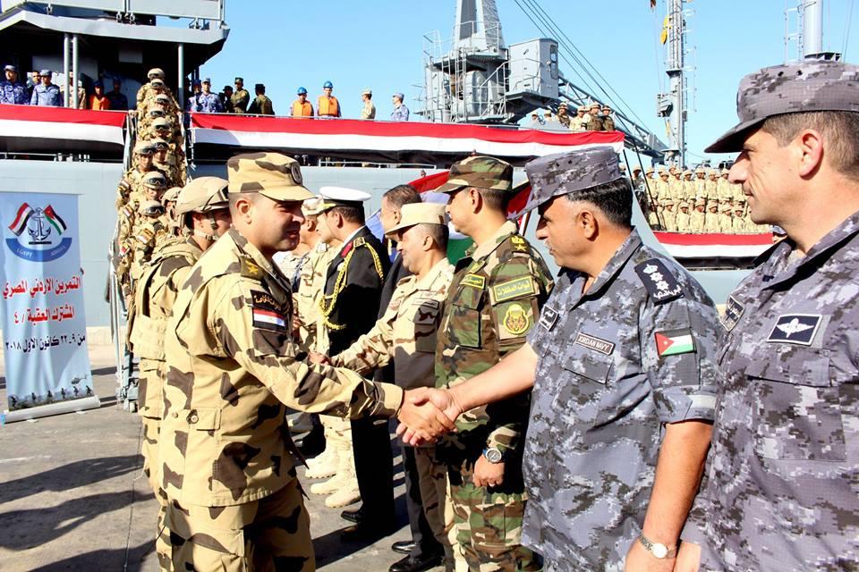 التدريب المصري الأردني - العقبة 4