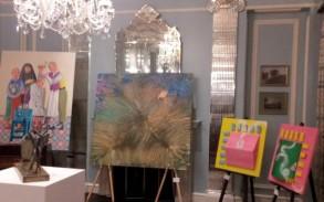 صورة من معرض كنوز للأعمال الفنية في لندن