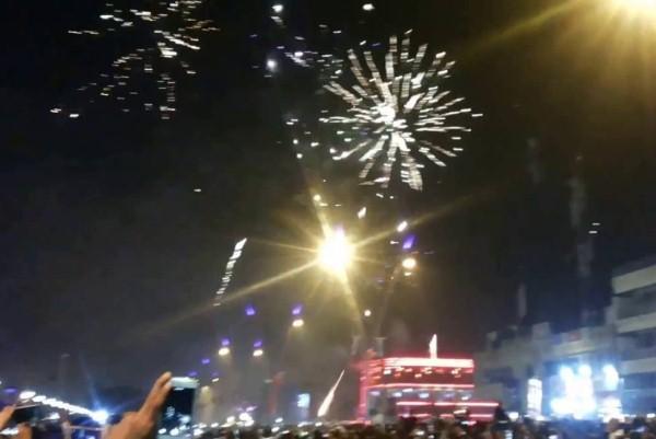 بدء احتفالات العراقيين بحلول السنة الجديدة