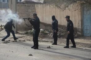 عناصر من الشرطة التونسية