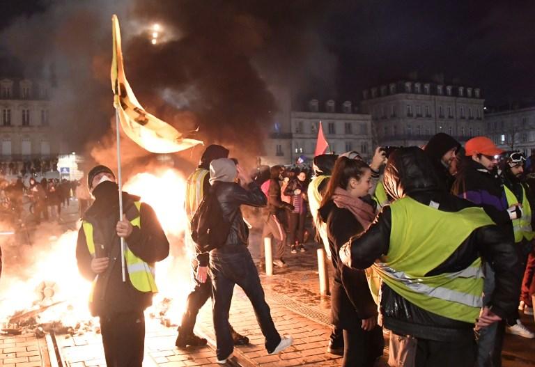 جانب من تظاهرات السبت في باريس