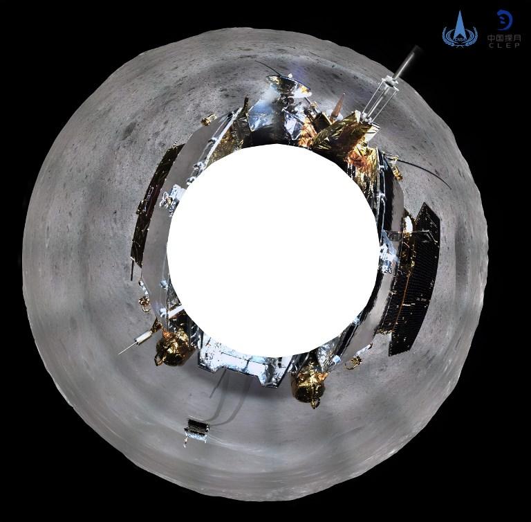 صورة لوكالة الفضاء الصينية