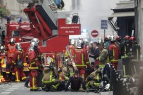 ثلاثة قتلى وعشرات الجرحى بسبب انفجار قوي نتج من تسرب للغاز في باريس