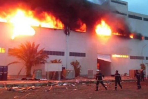 حريق مبنى احتجاز الفتيات المشردات في بغداد
