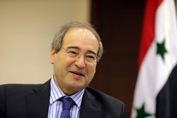 وزير الخارجية السوري فيصل مقداد