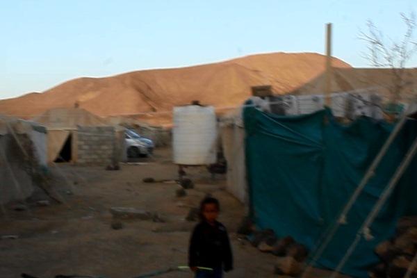 مخيم للنازحين