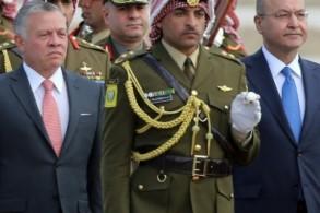 الرئيس العراقي والعاهل الأردني