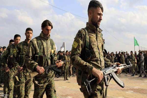 مقاتلون أكراد في سوريا