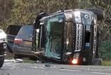 زوج ملكة بريطانيا ينجو من حادث سير (صور)
