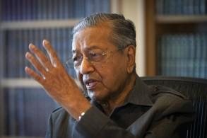 رئيس الوزراء الماليزي مهاتير محمد