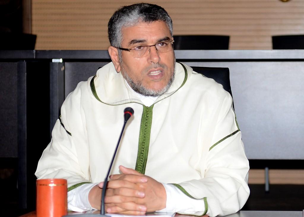 مصطفى الرميد وزير الدولة المكلف حقوق الإنسان في المغرب