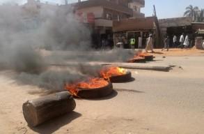 جانب من احتجاجات الخرطوم