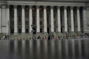 محكمة ثورغود مارشال الفدرالية في نيويورك في 18 يناير 2019