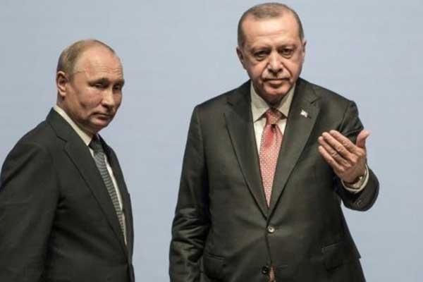 بوتين وأردوغان يبحثان رغبة تركيا في إنشاء