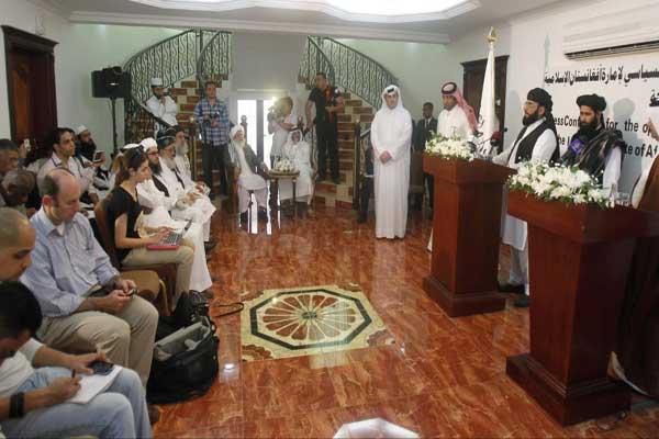 جولة محادثات بين طالبان والمبعوث الأميركي إلى أفغانستان استضافتها الدوحة في أغسطس الماضي - أرشيفية
