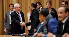 جانب من محادثات السلام اليمنية في السويد