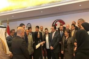 الوفد البرلماني المصري في زيارة للإمارات