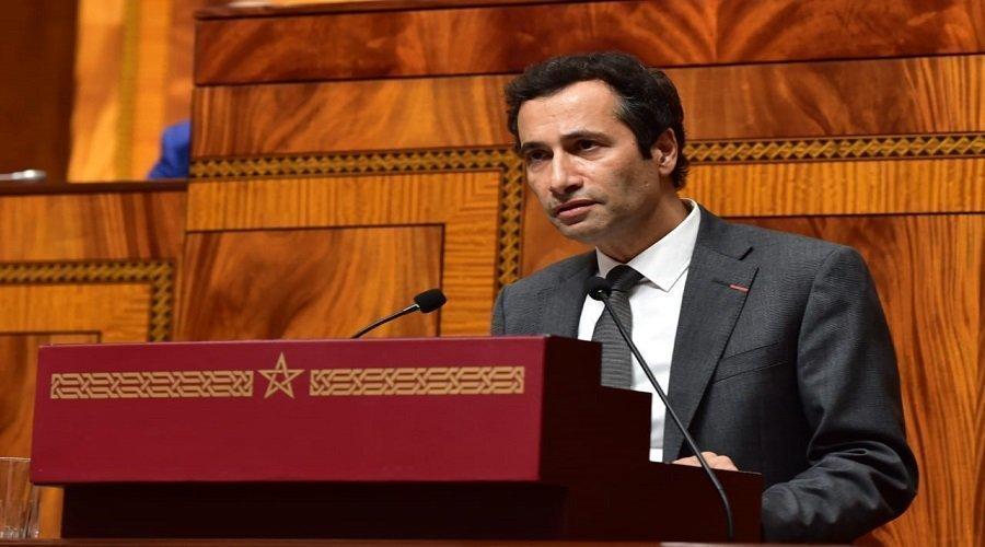 محمد بنشعبون وزير الاقتصاد والمالية المغربي