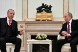 بوتين وأردوغان يبحثان في موسكو الملف السوري