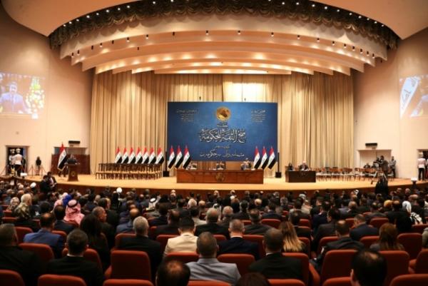 مجلس النواب العراقي يصوت على منح الثقة للحكومة الجديدة في 24 أكتوبر 2018 في بغداد