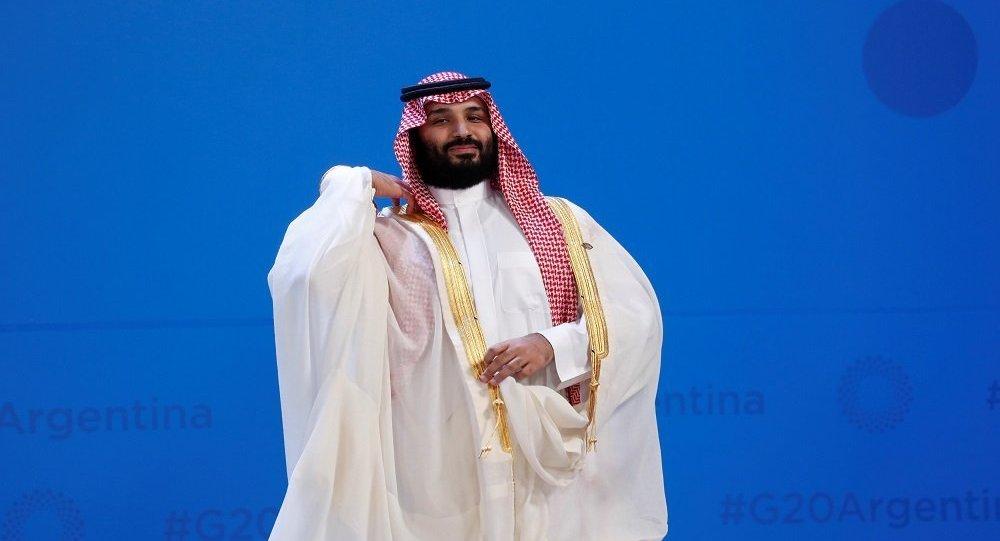 ولي العهد السعودي في العاصمة الارجنتينية