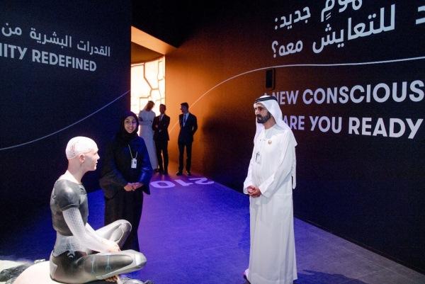 الشيخ محمد بن راشد في مؤتمر القمة العالمية للحكومات