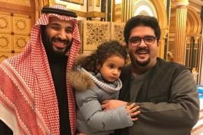 محمد بن سلمان يزور الأمير عبدالعزيز بن فهد