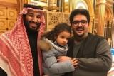 محمد بن سلمان في ضيافة الأمير عبد العزيز بن فهد
