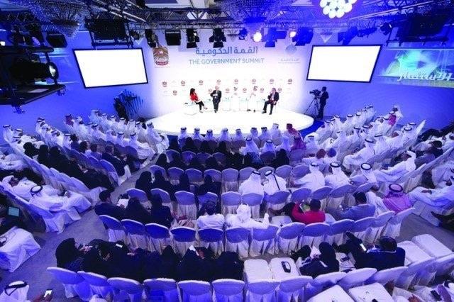 فعاليات القمة العالمية للحكومات