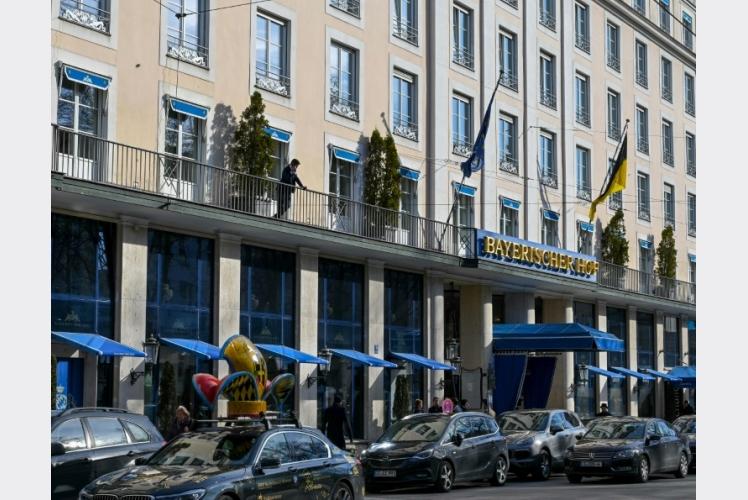 الفندق الذي سيعقد فيه مؤتمر ميونيخ حول الأمن