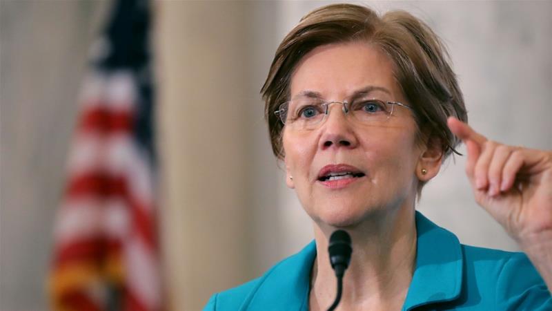 عضو مجلس الشيوخ الأميركي إليزابيث وارن