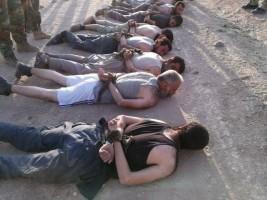 عناصر داعش بقبضة القوات الكردية العراقية