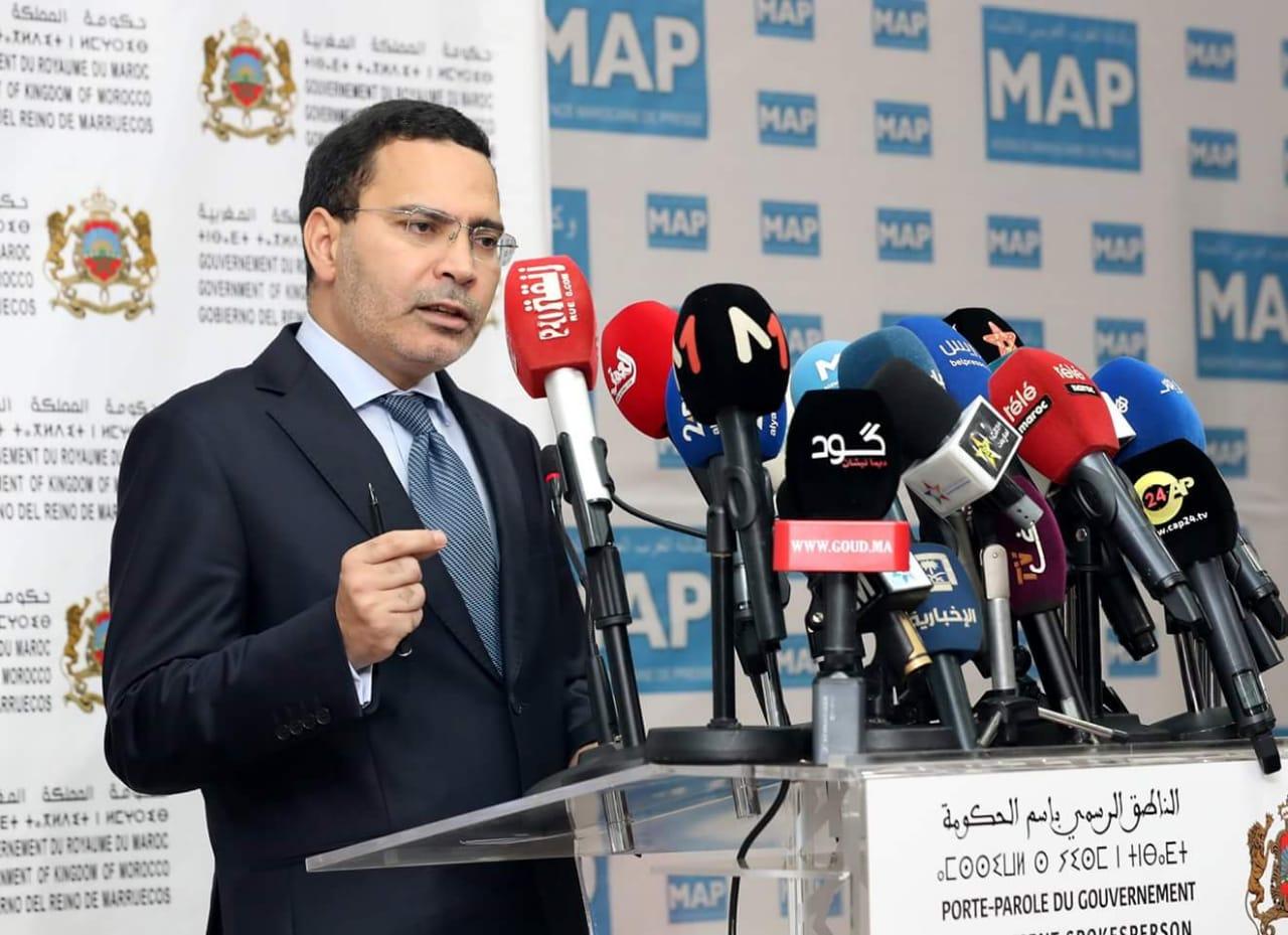 مصطفى الخلفي الناطق الرسمي باسم الحكومة المغربية