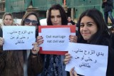 لبنانيون يتظاهرون للمطالبة بتشريع عقد الزواج المدني في لبنان
